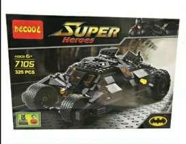 Carro de Batman lego,325 piezas