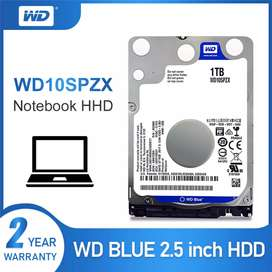 Disco duro 1 tera westerdigital portatil