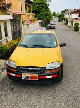 Taxi - Chevy Taxi 2009