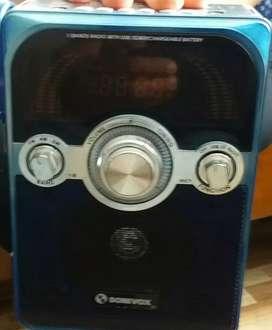 Karaoke radio  memoria externa.