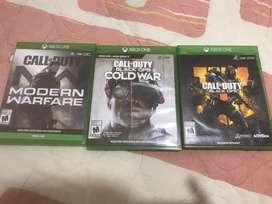 Coleccion Call of duty xbox one