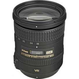 Lente Nikon18-200MM F/3.5-5.6G ED VR II