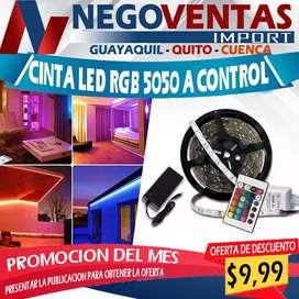 Cinta led rgb 5050 a control