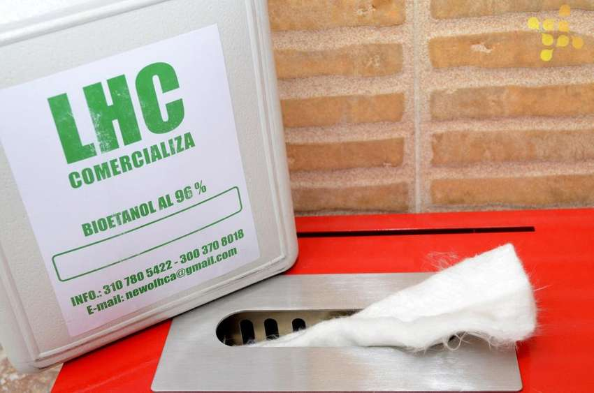 Bioetanol Garrafa 3 Litros Para Chimeneas Al 96 decoración ambiente 0