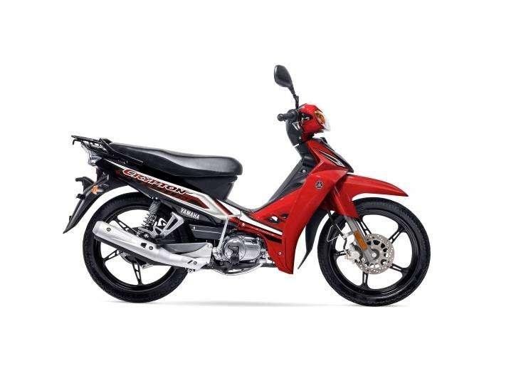 Yamaha Crypton 110 0KM full financio minimo anticipo 0