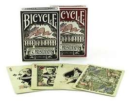 Baraja Original Bicycle Presidents. Envia Banimported