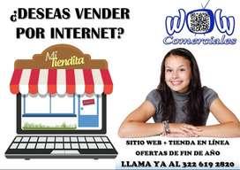 DISEÑO DE SITIO WEB Y TIENDA EN LÍNEA