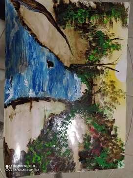 Vendo Hermosos cuadros, hechos en brea para el Hogar