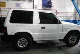 Vendo Montero Mitsubishi Placa blanca