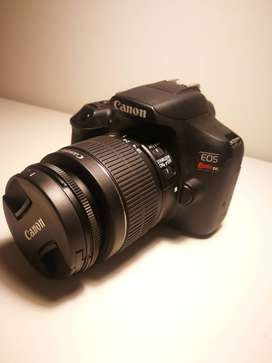 Canon EOSCanon EOS Rebel T6 con lente EF-S 18-55mm y más. Perfecto estado