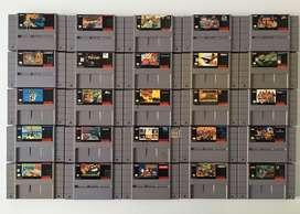 Juegos para Super Nintendo SNES!!! 100% Originales