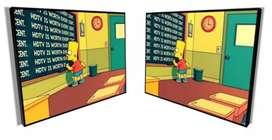 Vendo cuadro de los Simpsons