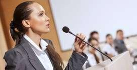 Busco oradora con experiencia