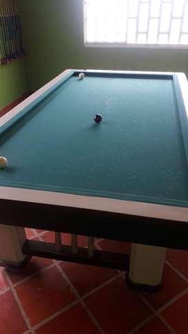 Gran promoción  de mesa de billar pool y billar tres bandas