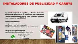 INSTALADORES DE PUBLICIDAD