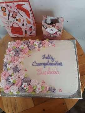 tortas de vainilla y chocolate para el día de las madres