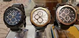 Reloj Fossil New Edición de Colección, Deportivo y Elegante, Cronómetro, Chronograph Resistente al agua 3ATM/30 metros.