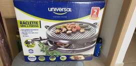 Raclette 6 puestos marca universal