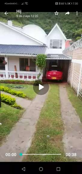Vendo o permuto espectacular casa campestre en chachagui