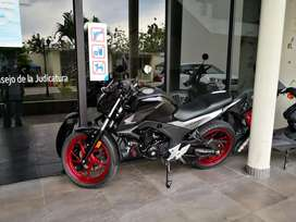 Se vende moto Honda cb 160 F, como nueva,full extras, poco recorrido