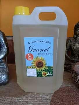 Aceite de girasol 4,5 litros