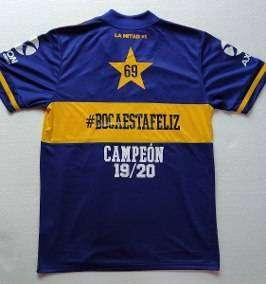 CAMISETA BOCA CAMPEON 0