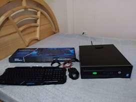 Cpu HP Prodesk i5 4590+ 6GB RAM +Antena Wifi+Teclado y mause (Sin Monitor)