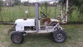 Tractor  artesanal