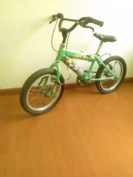 Vendo hermosa cicla
