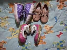 Zapatitos niña usados