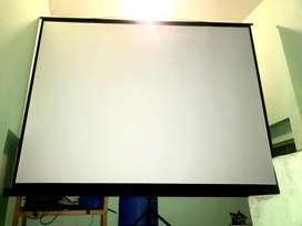 Venta de ecran portatil 2.5 m x 1.8 m y puntero remoto