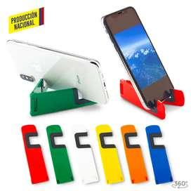 Combo x12 unidades porta celular plástico para móviles  en ABS y PVC