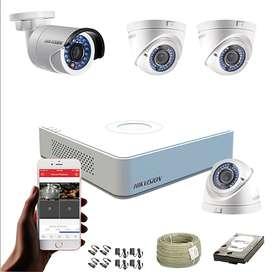 Alarmas de seguridad, cercas eléctricas, cámaras cctv, domótica.