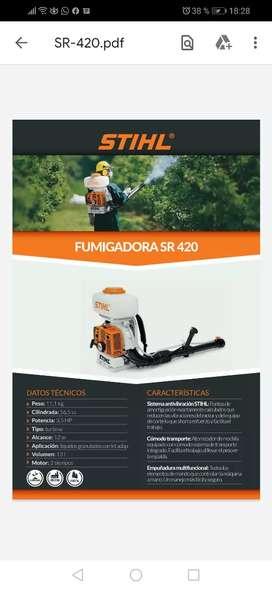 Fumigadora profesional stilh SR420