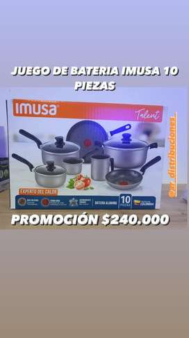 JUEGO DE BATERIA IMUSA