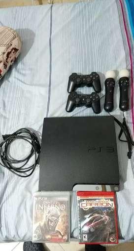 Vendo Playstation 3 Slim 160Gb