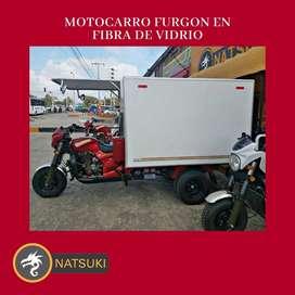 Motocarro Natsuki Furgon 2021