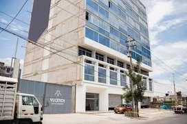 SOLUCIONES INMOBILIARIAS Alquila Oficina de 47 m2  Edificio Vucetich  Parque Industrial