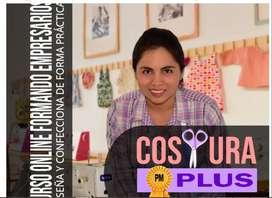 CURSO DE COSTURA PLUS ONLINE