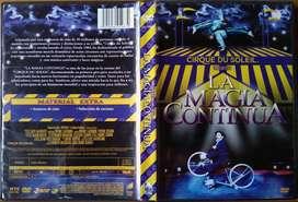 Cirque Du Soleil - La Magia Continua 2009 (DVD Original)
