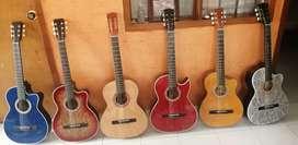 Vendo Hermosas Guitarras Acústicas Totalmente Nuevas!!