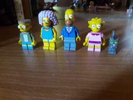 La familia bar sinsons legos