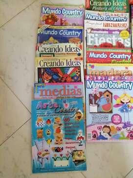 Lote de revistas de manualidades