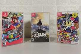 Lote 3 Juegos Nintendo Switch
