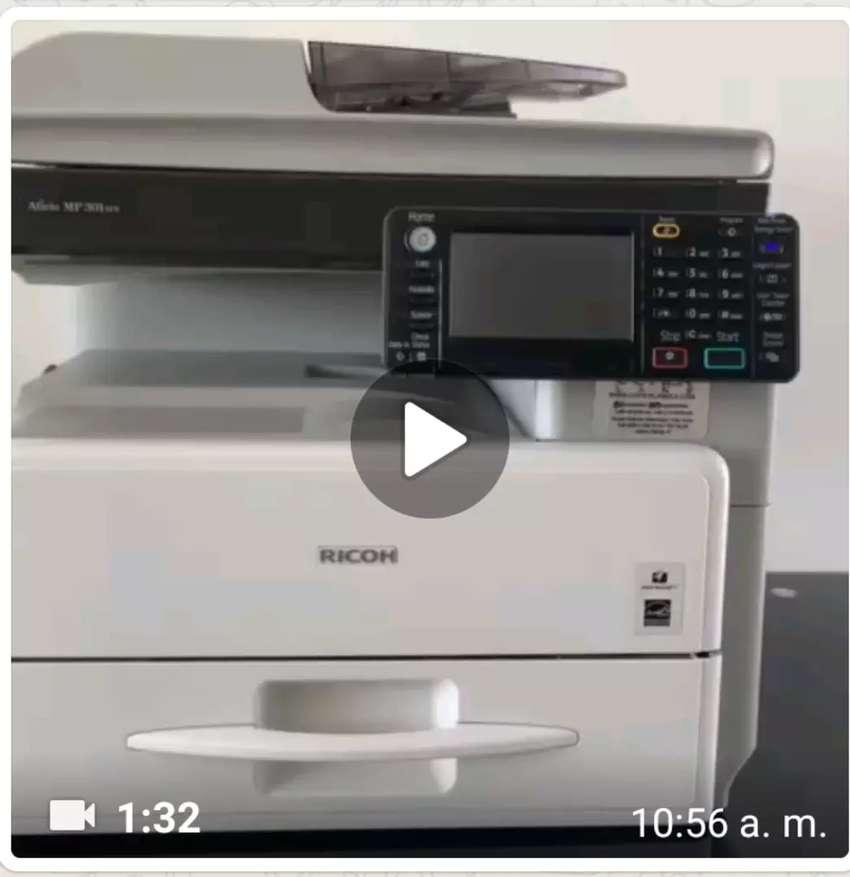 Repuestos fotocopiadora ricoh 301