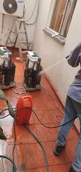 Servicio tecnico de lavadoras, neveras, aires acondicionados, estufas.