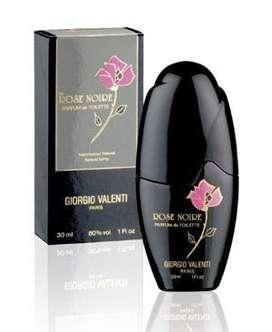 Perfume Rose Noire de Giorgio Valenti para Dama 100ml ORIGINAL