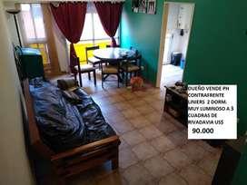 Dueño PH LINIERS contrafrente muy luminoso 2 DORM C/Placard , balcón, cocina separada. A 3 cuadras de Rivadavia al 10900