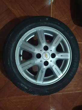 Rines y llantas Chevrolet spark GT