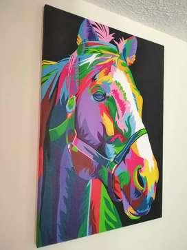 HORSE SPACE ART POP